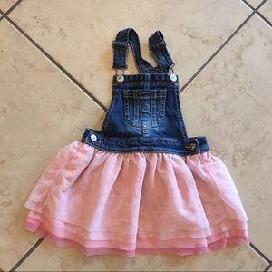 ✨Girls skirt overalls